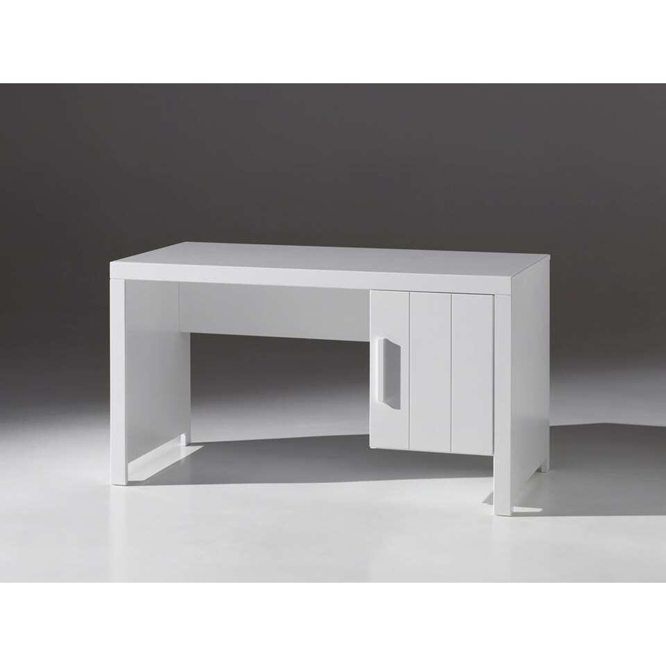 Vipack bureau Erik - wit - 137x75x70 cm - Leen Bakker