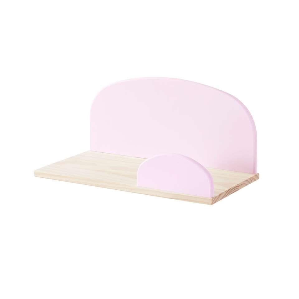 Vipack wandplank Kiddy - oud roze - 45 cm - Leen Bakker