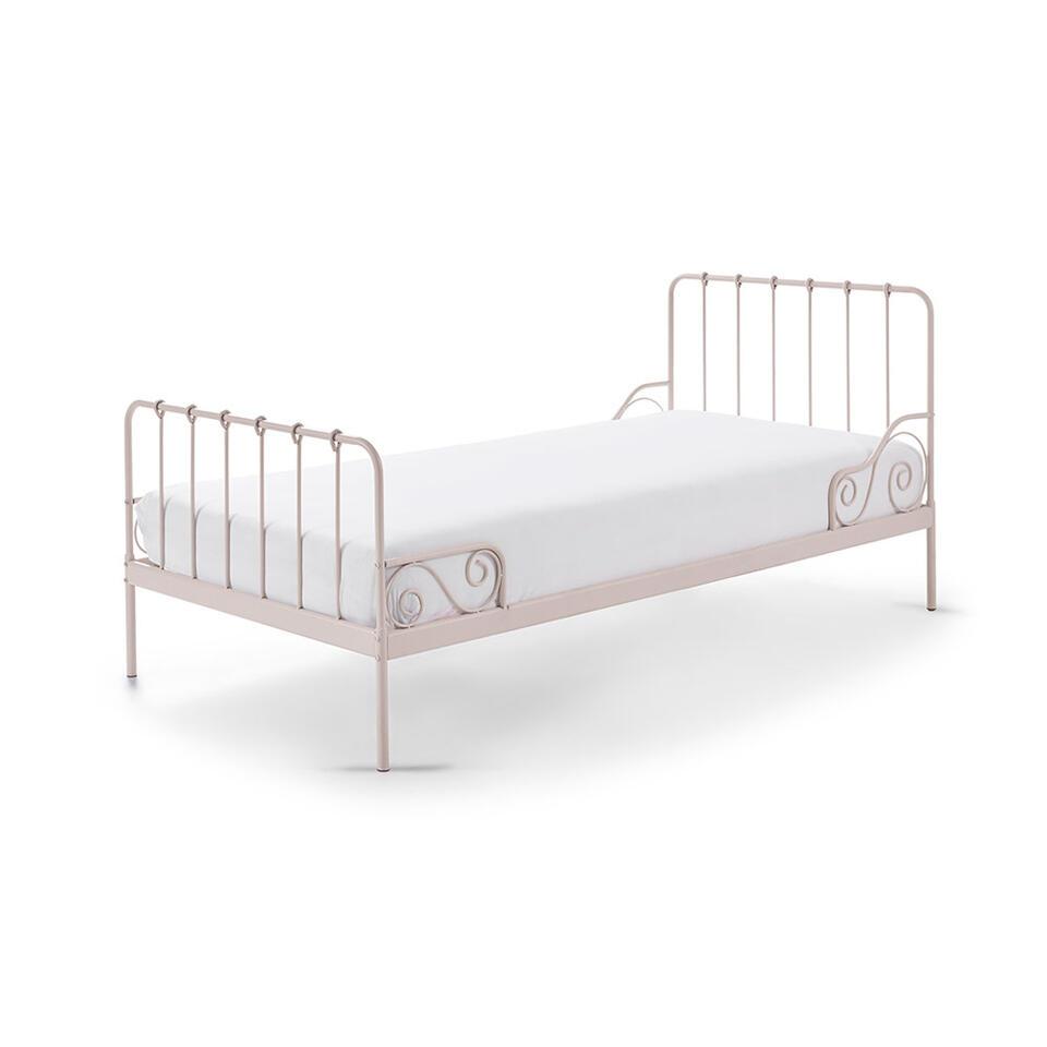 Vipack bed Alice - roze - 90x200 cm - Leen Bakker