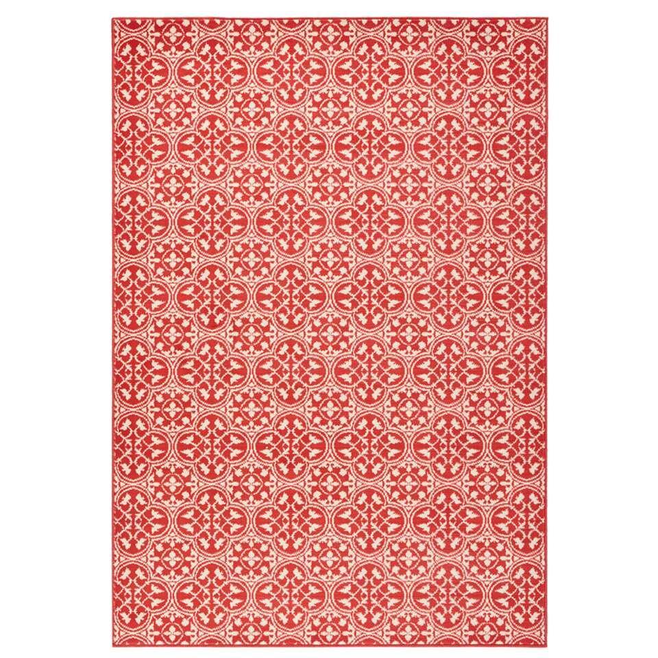 Hanse Home vloerkleed Pattern - koraal/crème - 200x290 cm - Leen Bakker