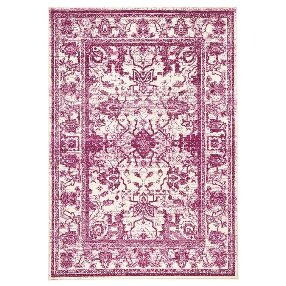 Zala Living vloerkleed Glorious - violet - 70x140 cm - Leen Bakker