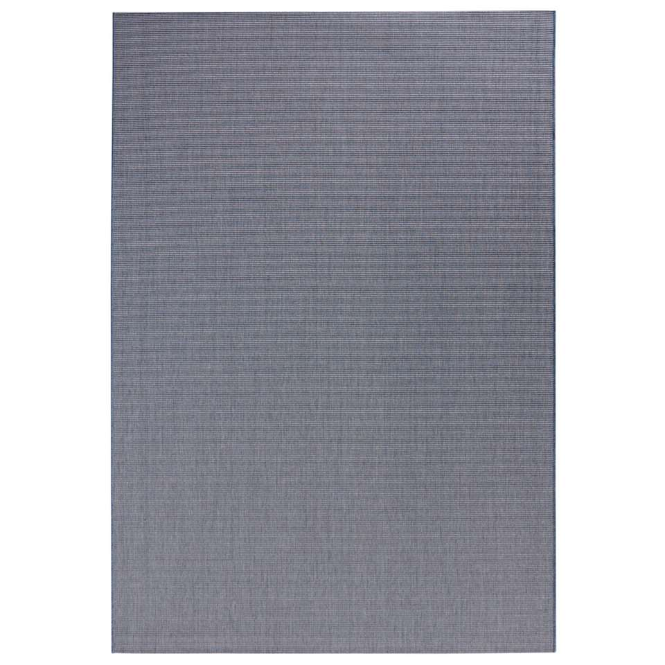 Bougari binnen/buitenvloerkleed Match - blauw - 120x170 cm - Leen Bakker