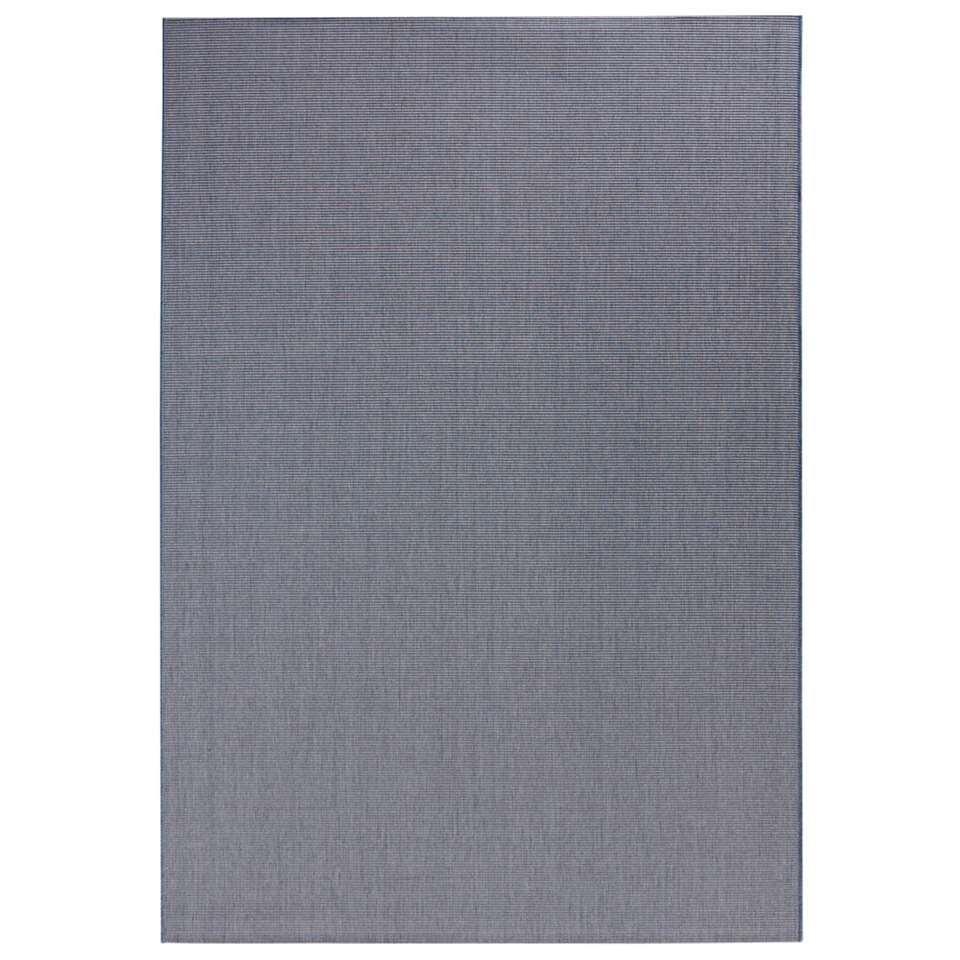 Bougari binnen/buitenvloerkleed Match - blauw - 200x290 cm - Leen Bakker