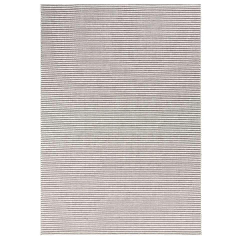 Bougari binnen/buitenvloerkleed Match - crème - 200x290 cm - Leen Bakker
