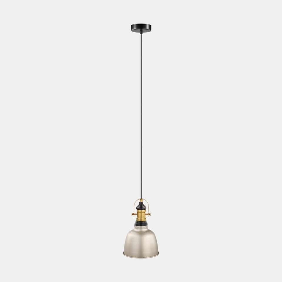 EGLO hanglamp Gilwell - champagne/zwart/brons - Ø18 cm - Leen Bakker