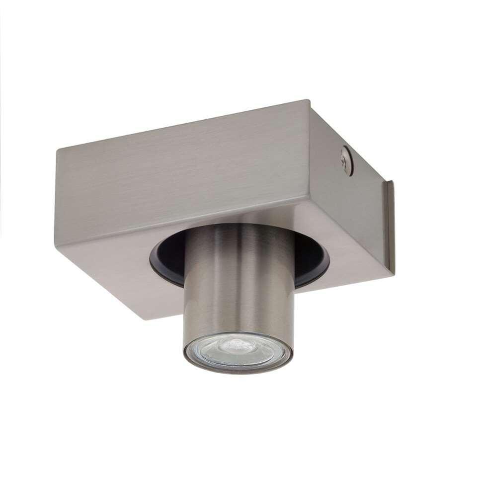 Spot Robledo van EGLO is een moderne en strakke LED spot. De spot is gemaakt van staal met een nikkel-matte afwerking waar hij in elk interieur past. De spot is voorzien van een GU10 fitting en wordt geleverd inclusief lichtbron.
