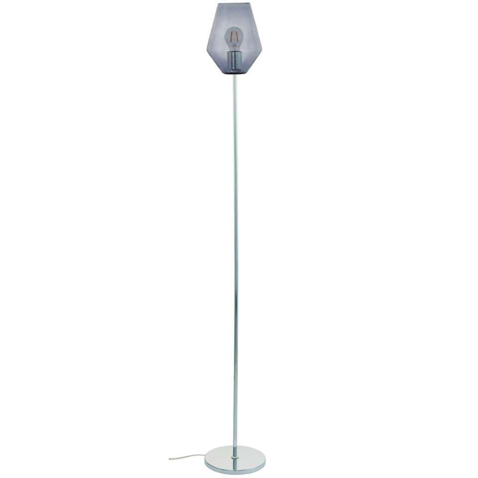 EGLO vloerlamp Murmillo – chroom – Leen Bakker