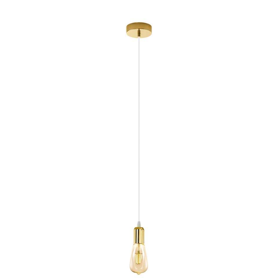 EGLO hanglamp Adri 2 - wit/goud - Leen Bakker
