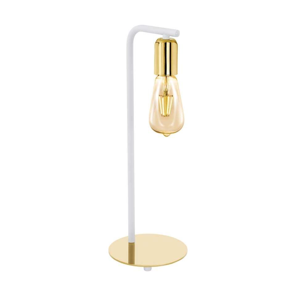 EGLO tafellamp Adri 2 - wit/goud - Leen Bakker