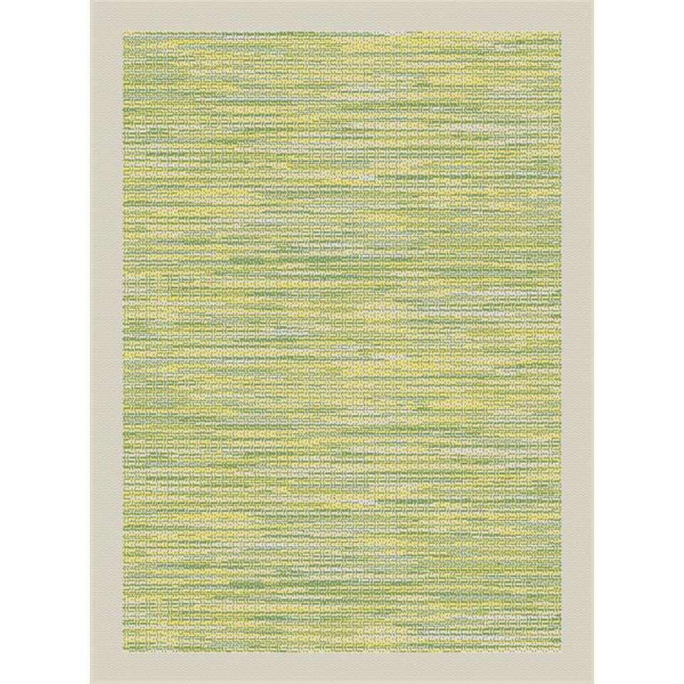 Vloerkleed Holt - groen - 120x170 cm - Leen Bakker