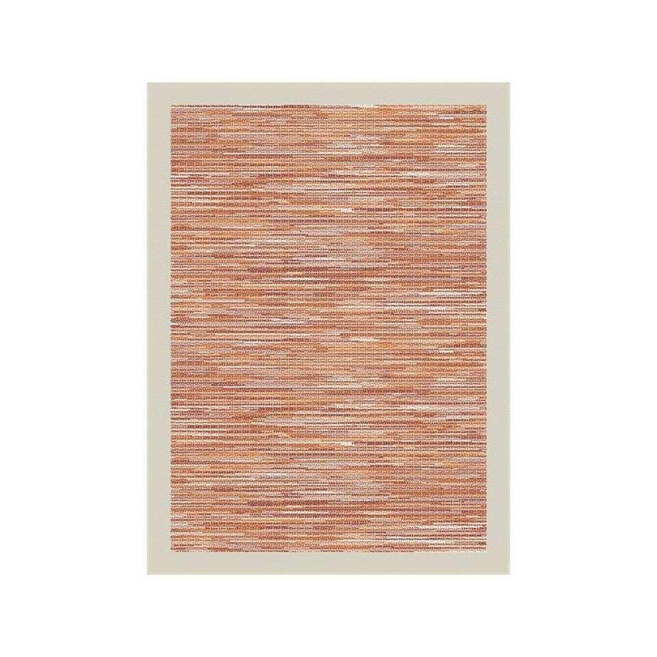 Vloerkleed Holt - rood - 60x180 cm - Leen Bakker