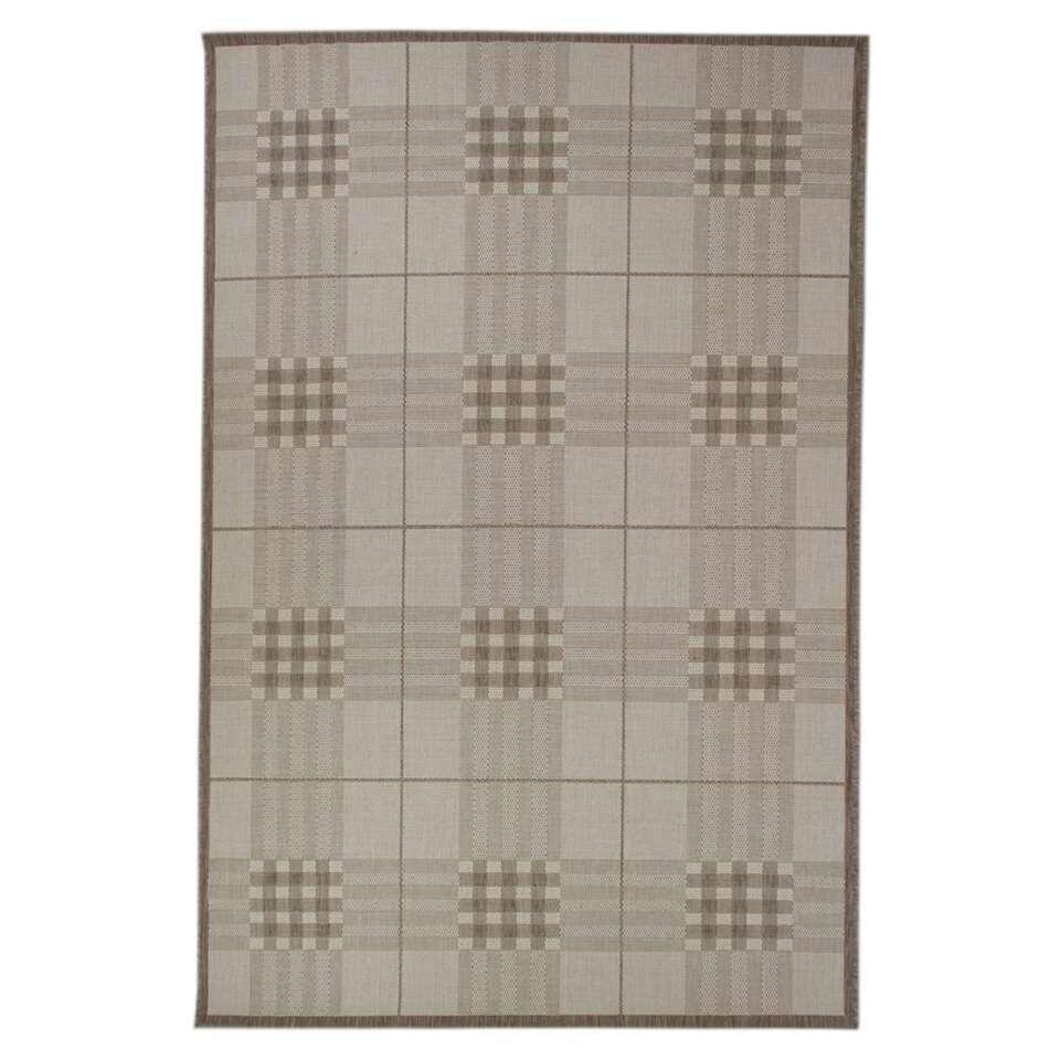 Vloerkleed Prescot – beige – 120×170 cm – Leen Bakker kopen Vloeren? Dat doe je hier snel en voordelig – snel in huis bezorgd