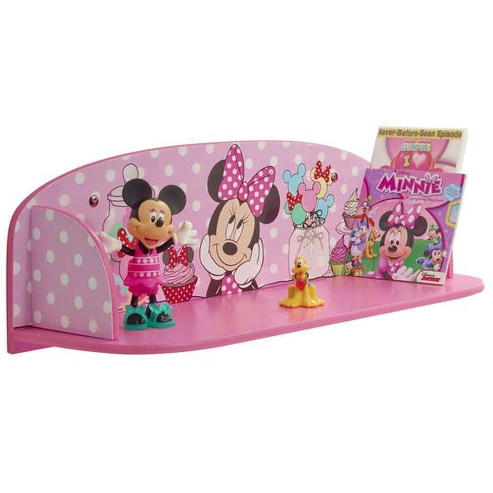 Minnie Mouse boekenplank - roze - Leen Bakker