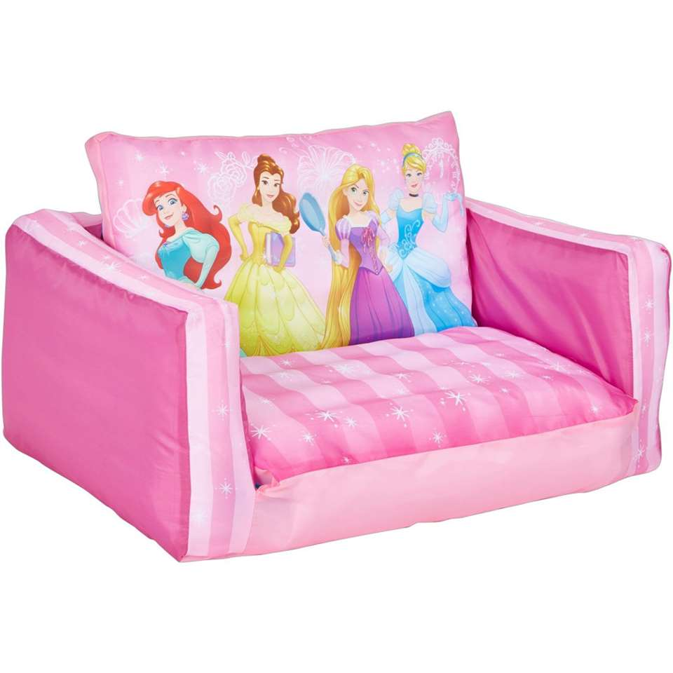 Uitklapbaar stoeltje Princess - roze - Leen Bakker