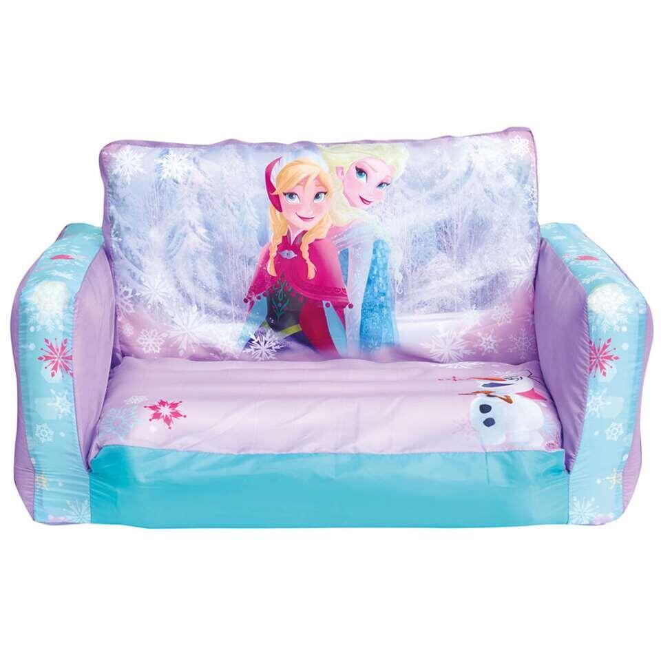 Uitklapbaar stoeltje Frozen - roze - Leen Bakker