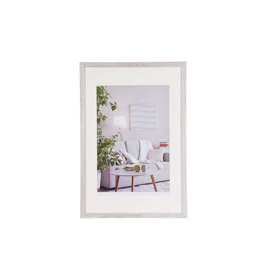 Henzo fotolijst Modern - wit - 40x60 cm