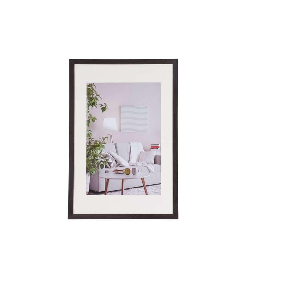 Henzo fotolijst Modern - donkerbruin - 40x60 cm - Leen Bakker