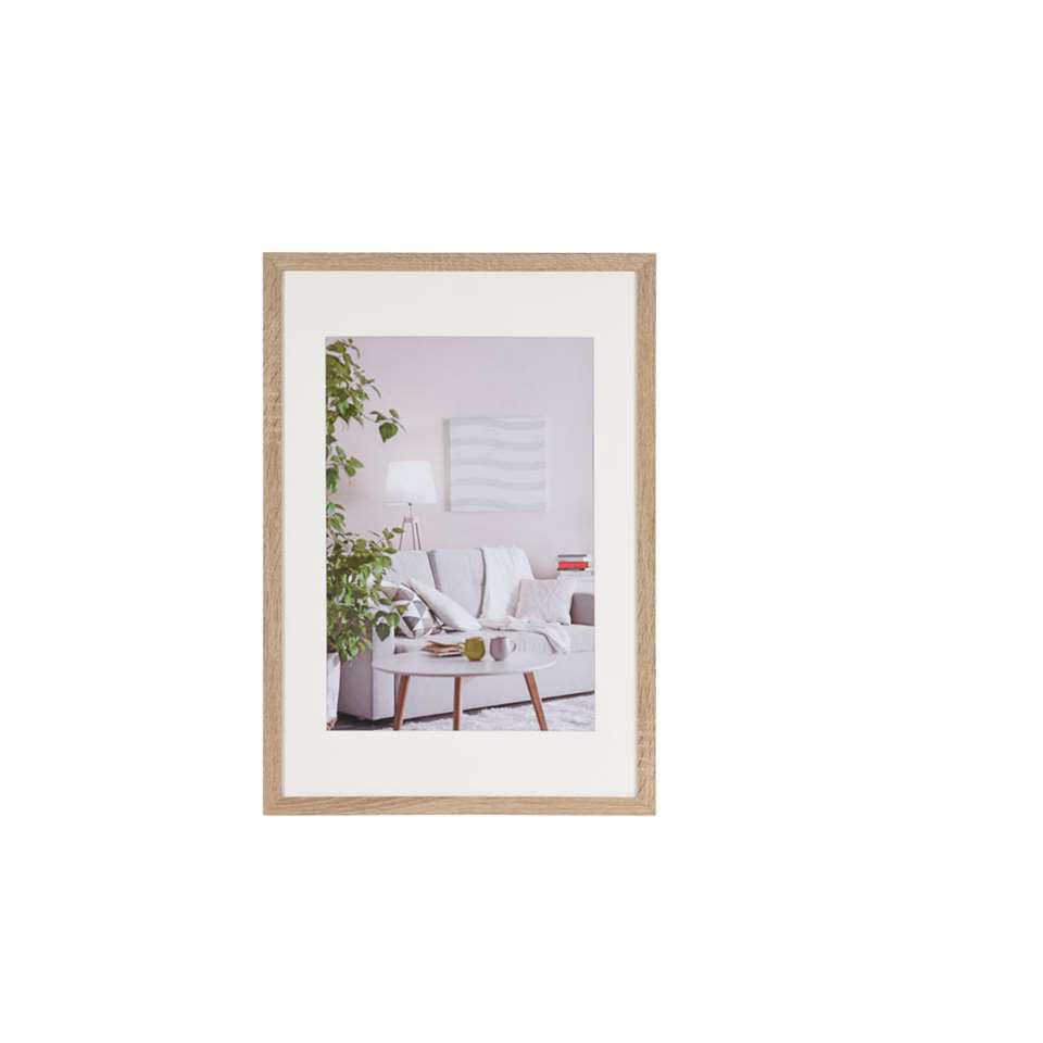 Fotolijst Modern 40 x 60 cm in de kleur midden bruin van het merk Henzo is een eigentijdse fotolijst voor ieder interieur. Strak vormgegeven in verschillende actuele kleuren verkrijgbaar.