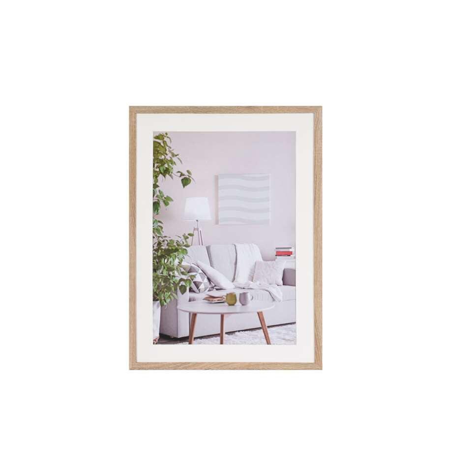Henzo fotolijst Modern - bruin - 50x70 cm - Leen Bakker