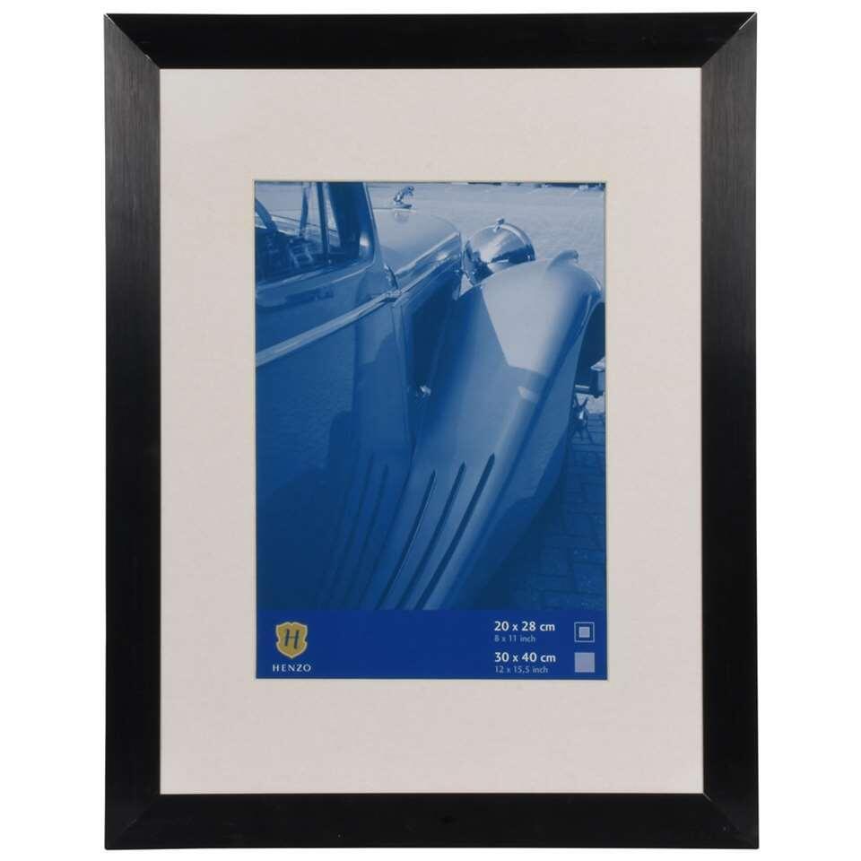 Henzo fotolijst Luzern – zwart – 30×40 cm – Leen Bakker