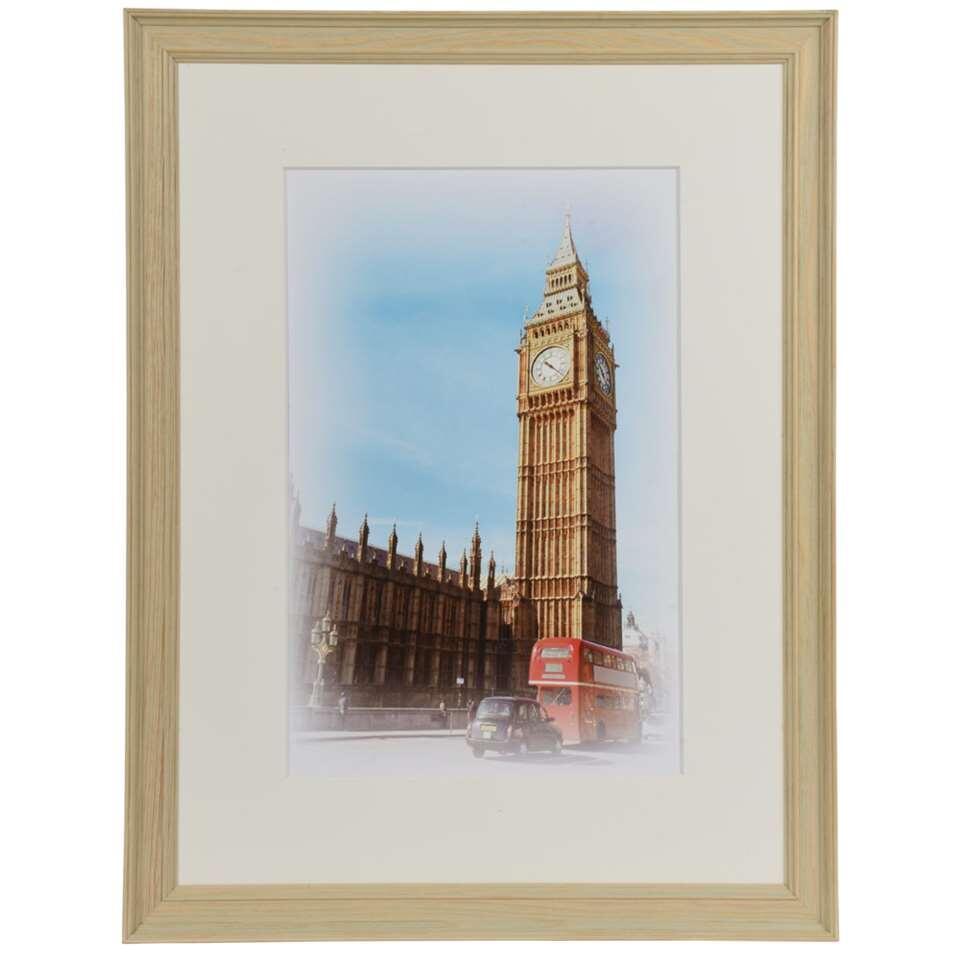 Henzo fotolijst Capital London – champagne – 30×40 cm – Leen Bakker