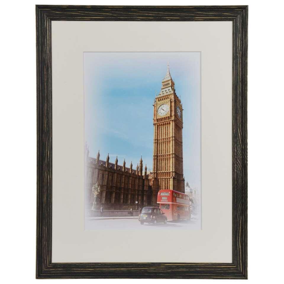 Henzo fotolijst Capital London - zwart - 30x40 cm - Leen Bakker