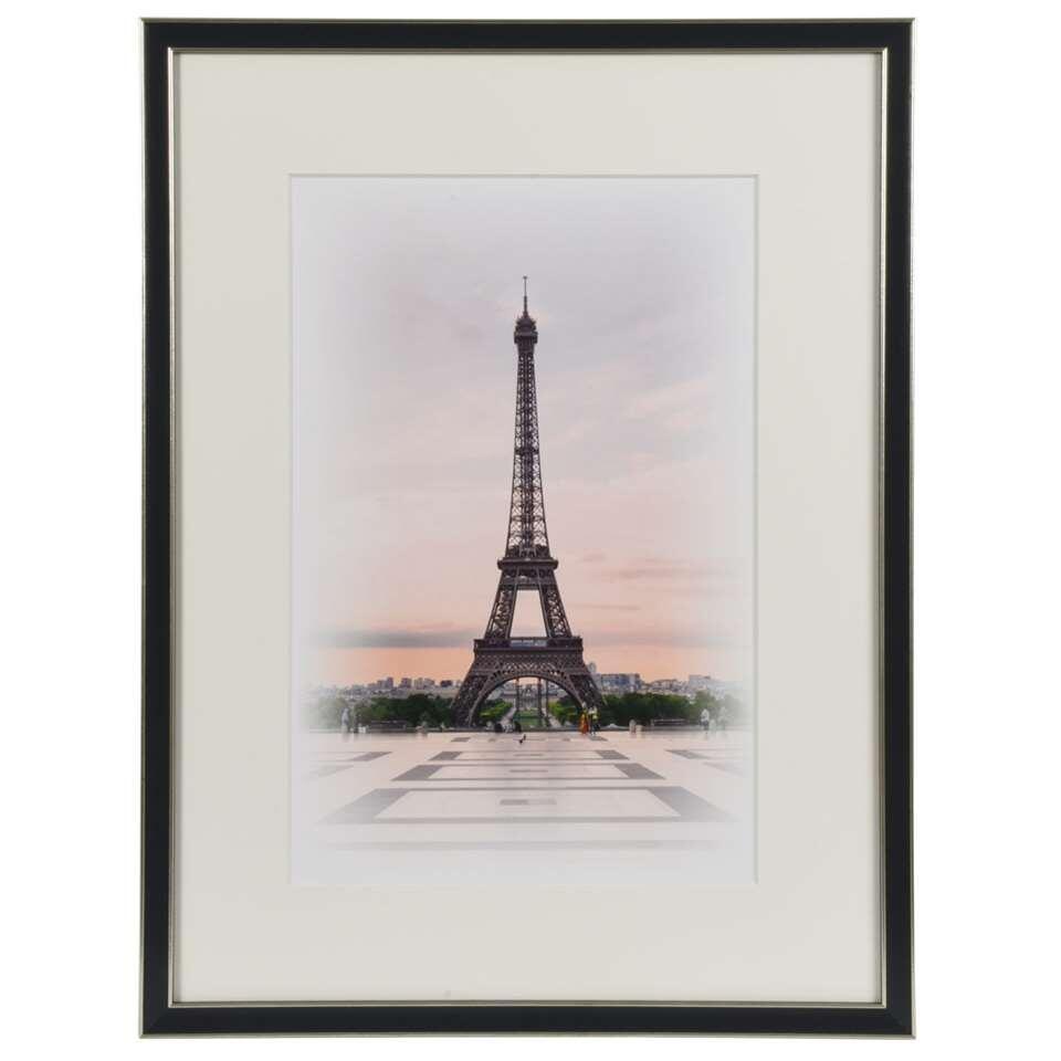 Henzo fotolijst Capital Paris - zwart - 30x40 cm - Leen Bakker