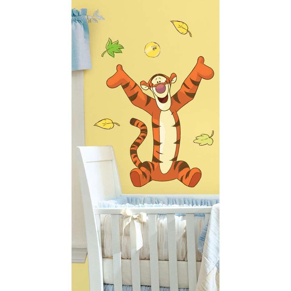 Muursticker Winnie The Pooh.Roommates Muursticker Winnie De Pooh Teigetje 46x13 Cm