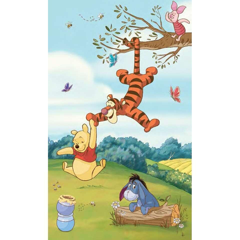 Muursticker Winnie The Pooh.Roommates Muursticker Winnie De Pooh 91x152 Cm