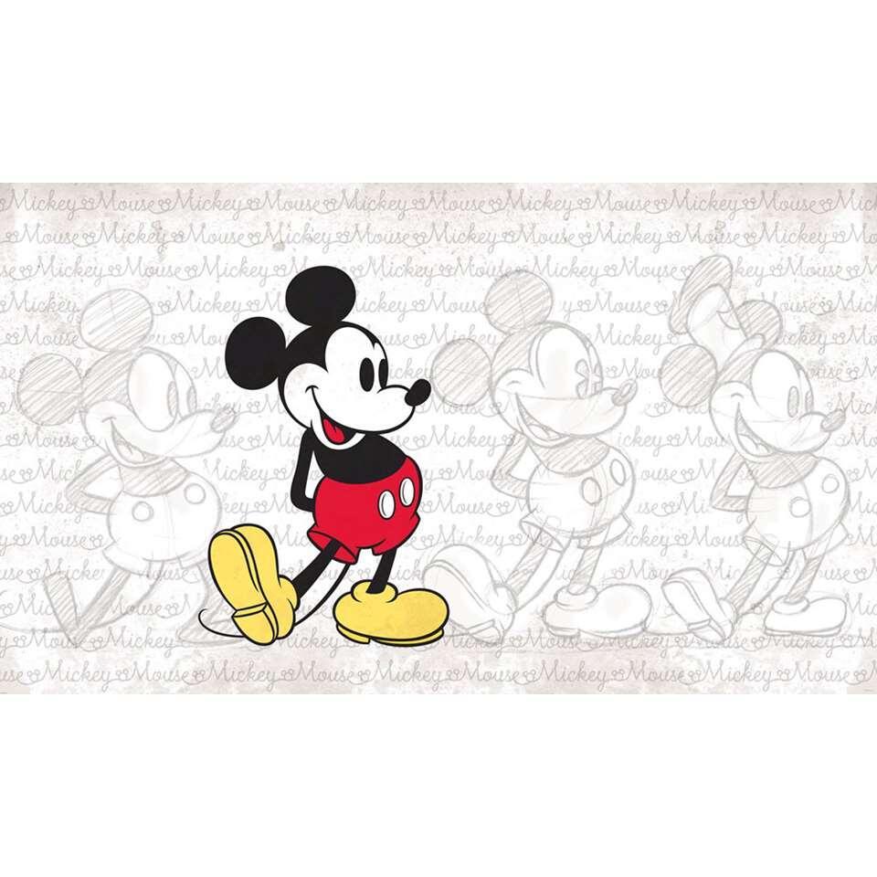 RoomMates muursticker Mickey Mouse - 91x152 cm - Leen Bakker