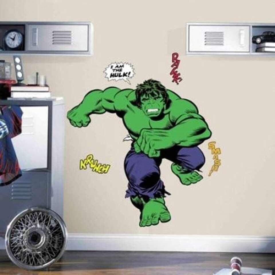 RoomMates muursticker Avengers De Hulk - 46x13 cm - Leen Bakker
