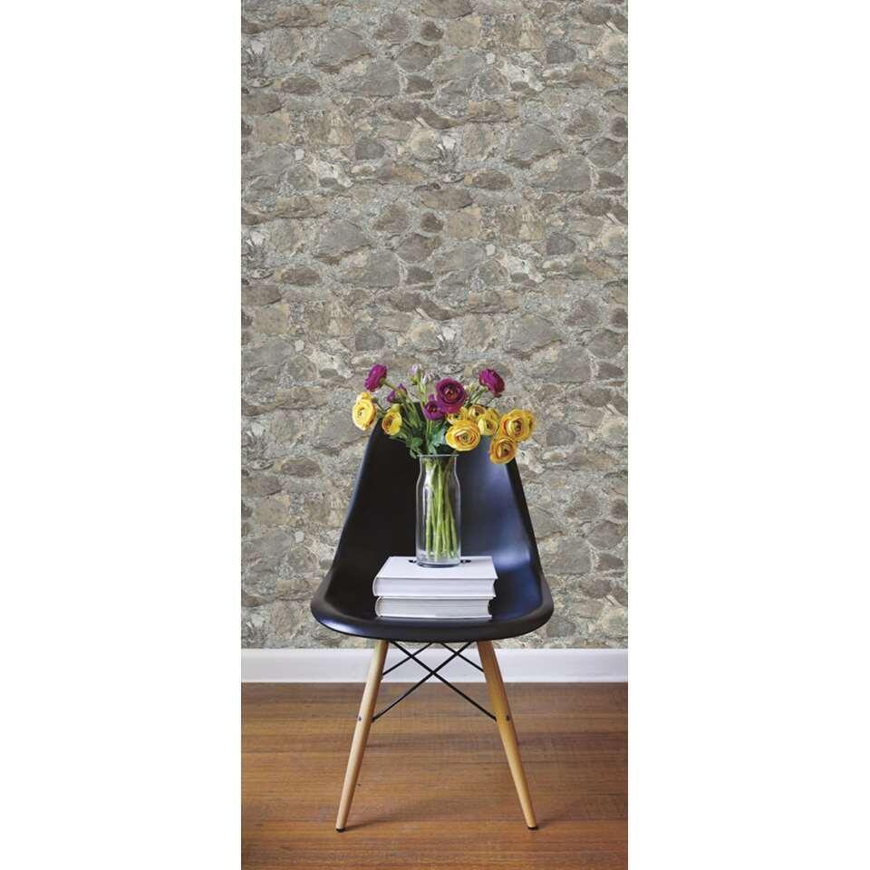 RoomMates wandsticker Peel & Stick Decor Weathered Stone - Leen Bakker