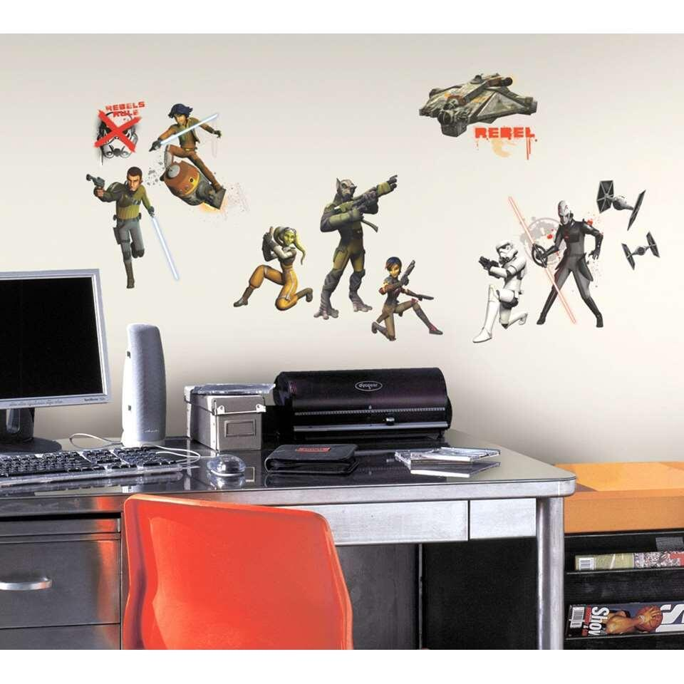 RoomMates muursticker Star Wars glow - 25x45 cm - Leen Bakker