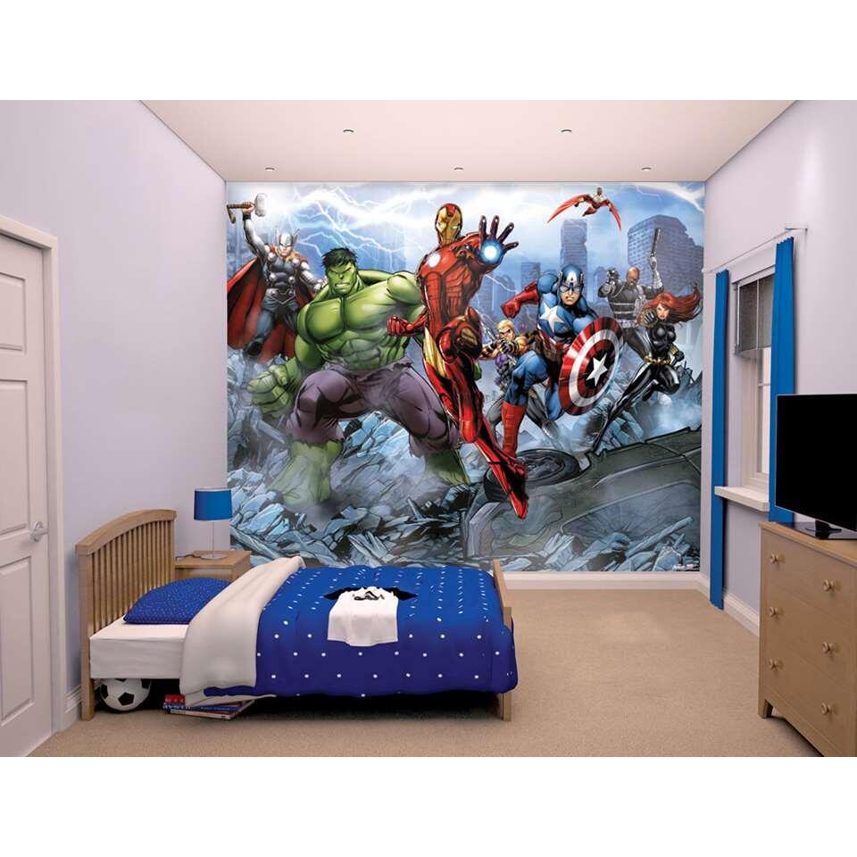 Mural Walltastic stickerbehang Avengers - 245x305 cm - Leen Bakker