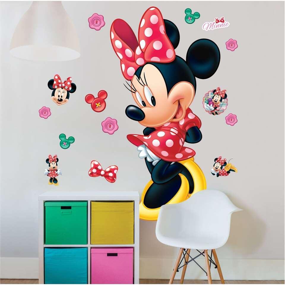 Walltastic muursticker Minnie Mouse - 122 cm - Leen Bakker