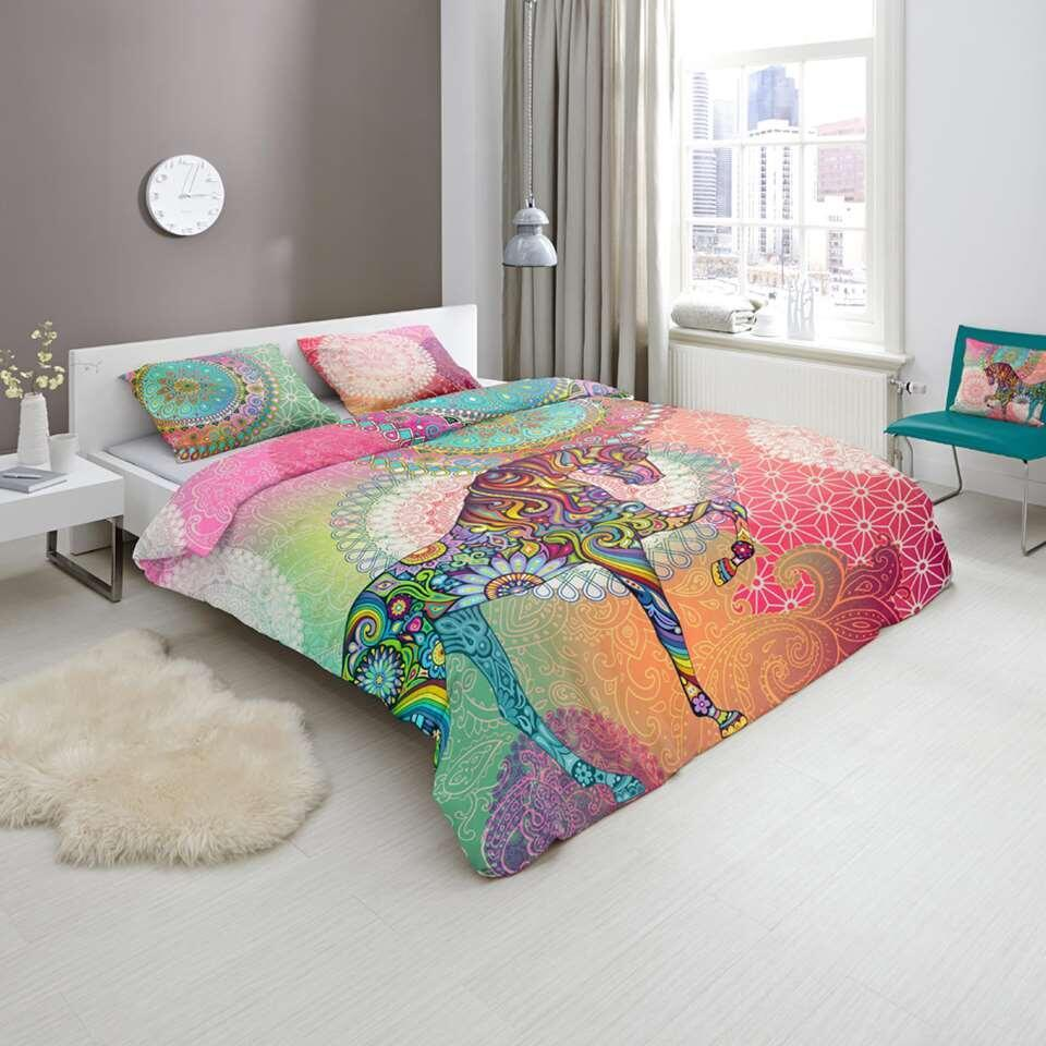 Hip parure de couette Sentha - multicolore - 200x200/220 cm