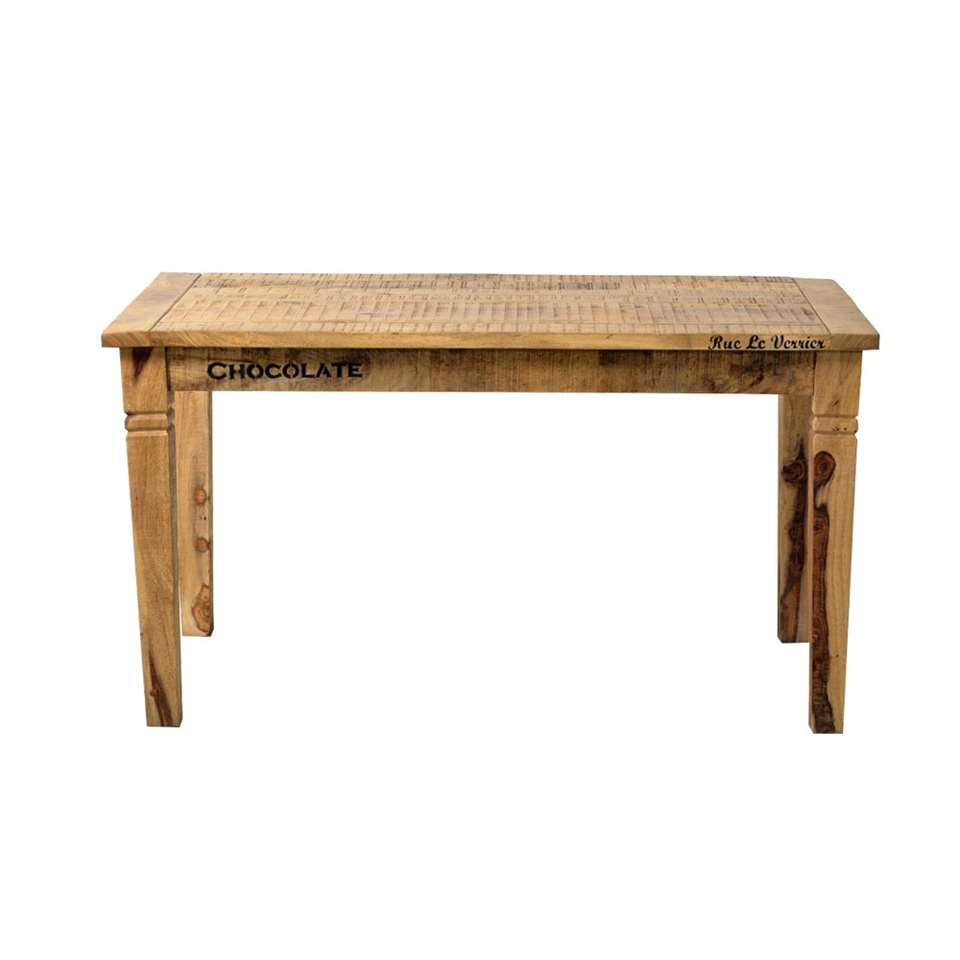 Eetkamertafel Guus - bruin - 76x140x70 cm