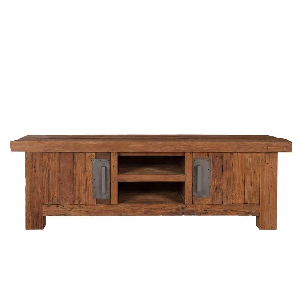 TV-meubel Freek - bruin - 50x160x45 cm - Leen Bakker