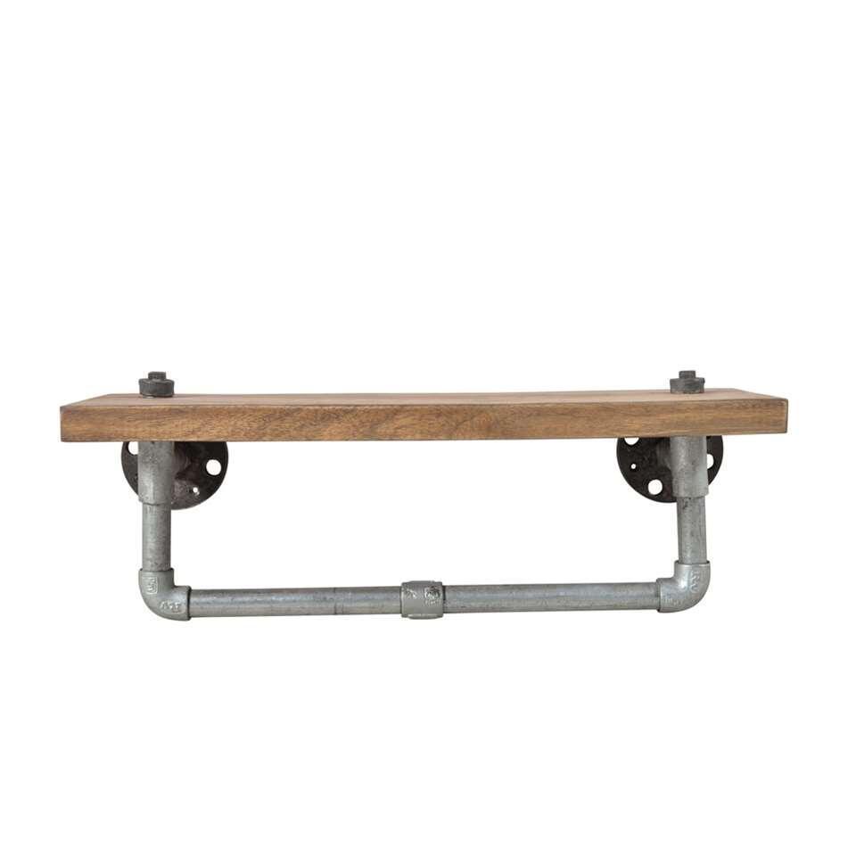 Wandplank Scott - bruin - 1 plank - Leen Bakker