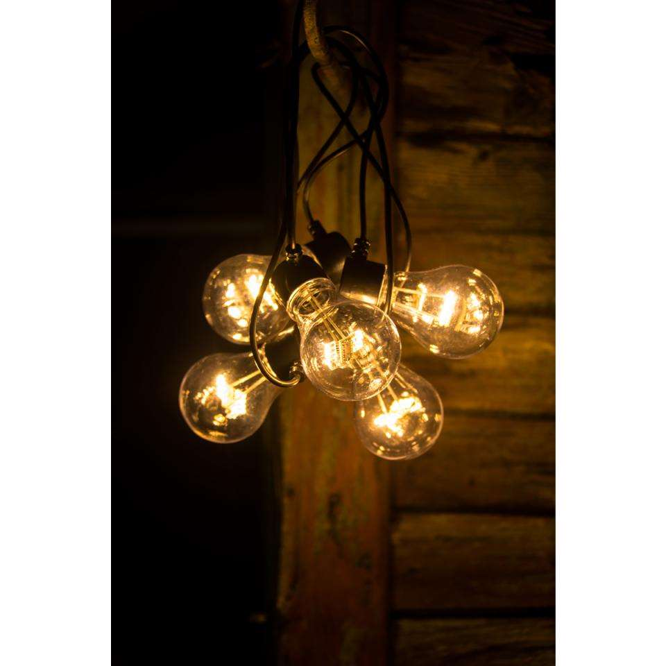 konstsmide led lichtsnoer peer 5 lampjes extra warm wit op batterij