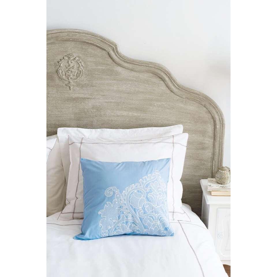 Ariadne at Home sierkussen Delight - lichtblauw - 50x50 cm - Leen Bakker