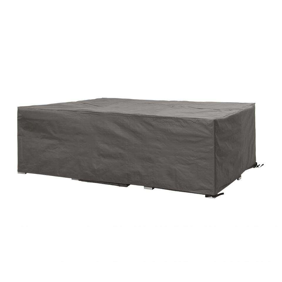 Deze Outdoor Covers hoes heeft een afmeting 300x300x75 cm en is geschikt voor een loungeset. Met deze hoes zorg je ervoor dat je langer kunt genieten van jouw loungeset.