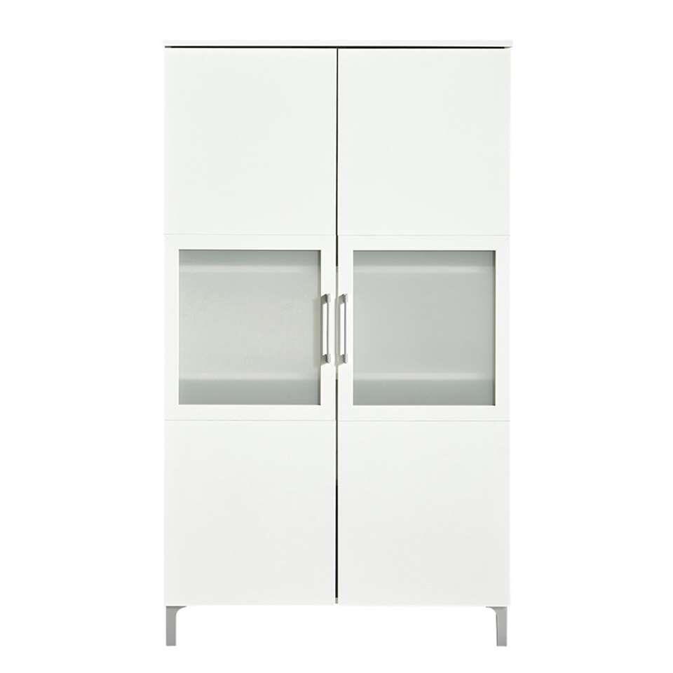 Demeyere buffetkast Chic 2-deurs - wit -140x80x39,6 cm - Leen Bakker