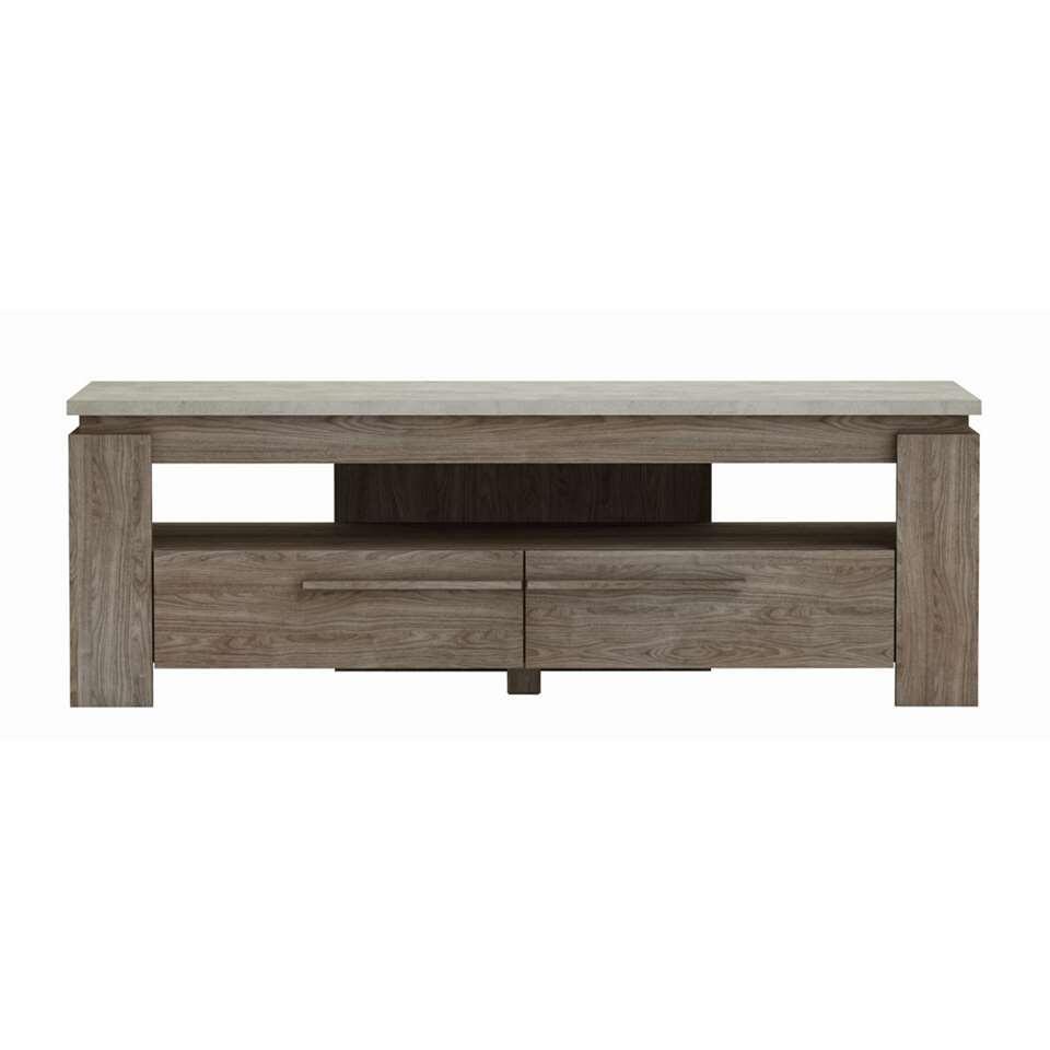 Demeyere TV-meubel Bastille - walnootkleur - 47x138,3x39.7 cm - Leen Bakker