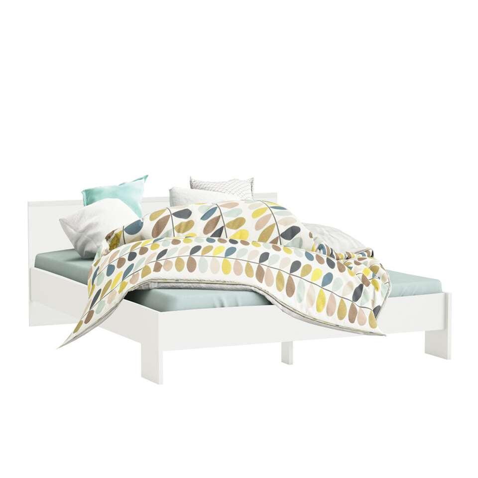 Demeyere bed Marty - wit - 160x200 cm - Leen Bakker