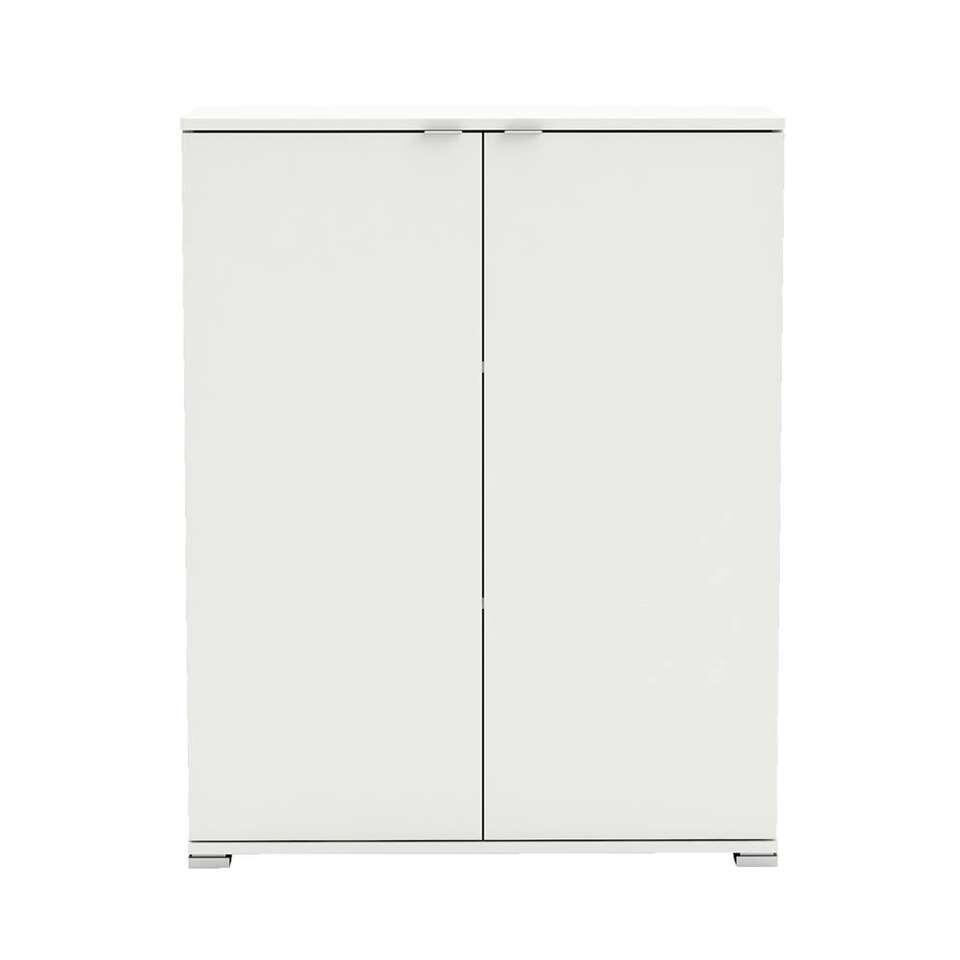 Demeyere kast Perfect 2-deurs - wit - 101,2x79,7x35,1 cm - Leen Bakker