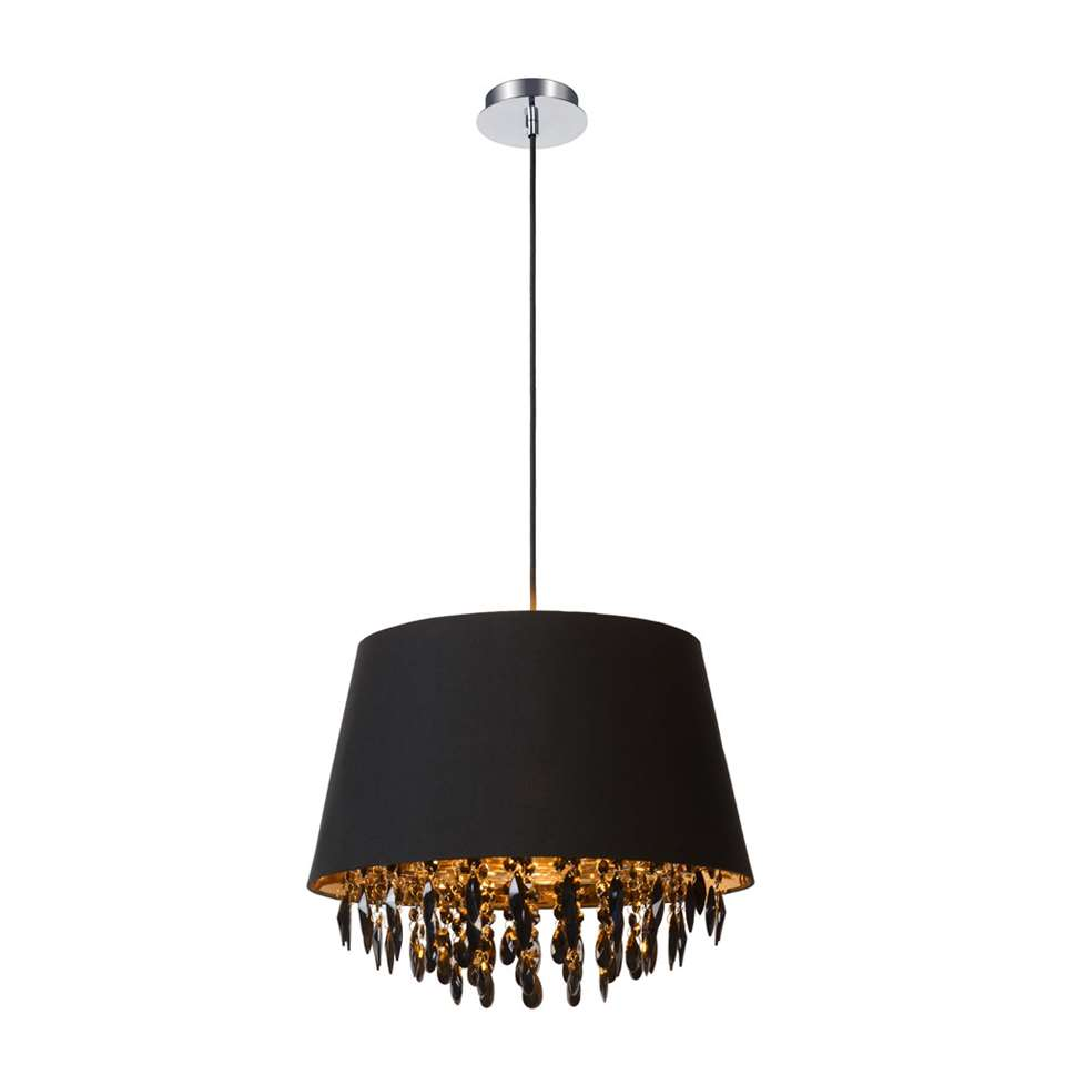 Lucide hanglamp Dolti - zwart - 45 cm
