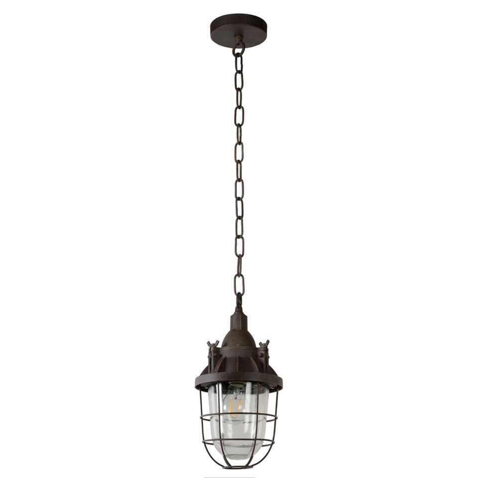 Lucide hanglamp Honore - roest bruin - Ø17 cm - Leen Bakker