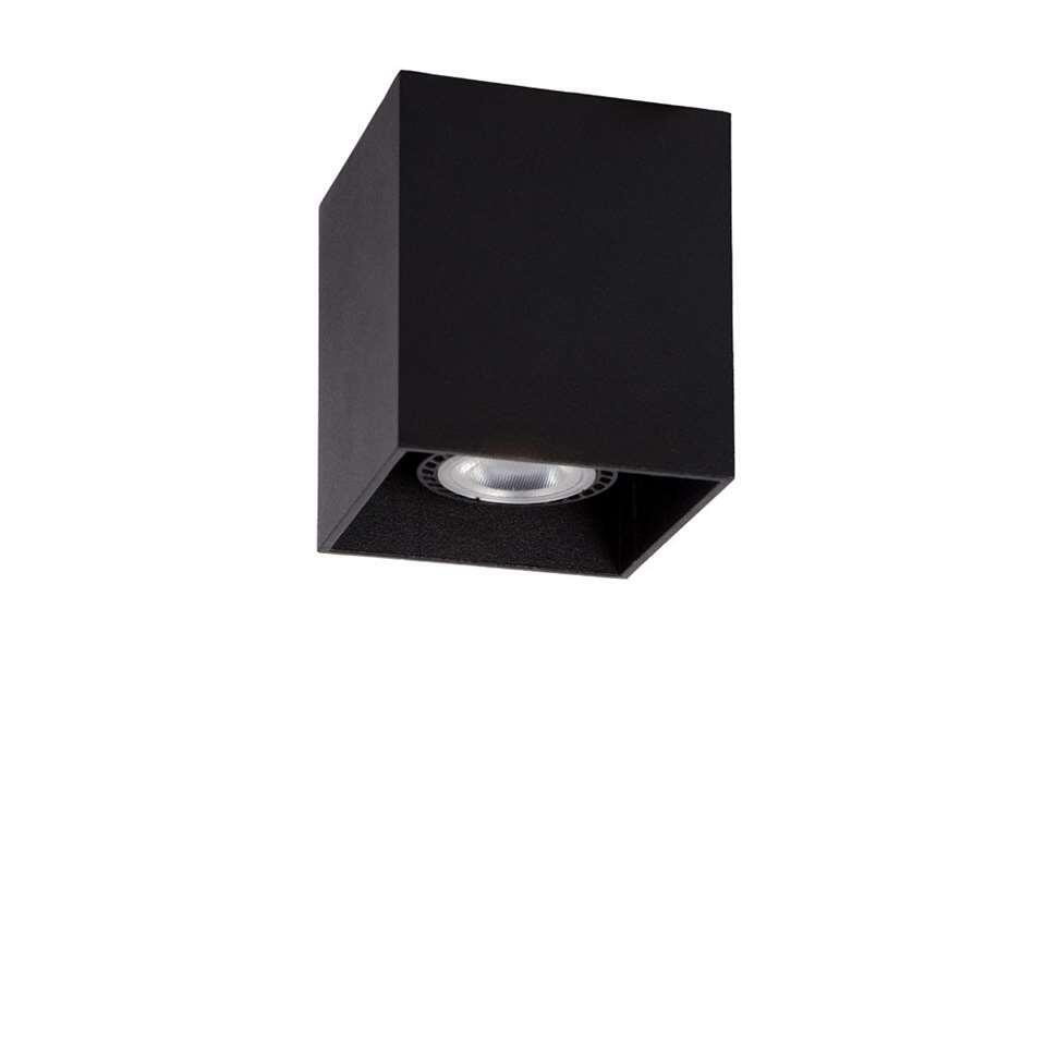 Lucide plafondspot Bodi 1 - zwart - 8 cm