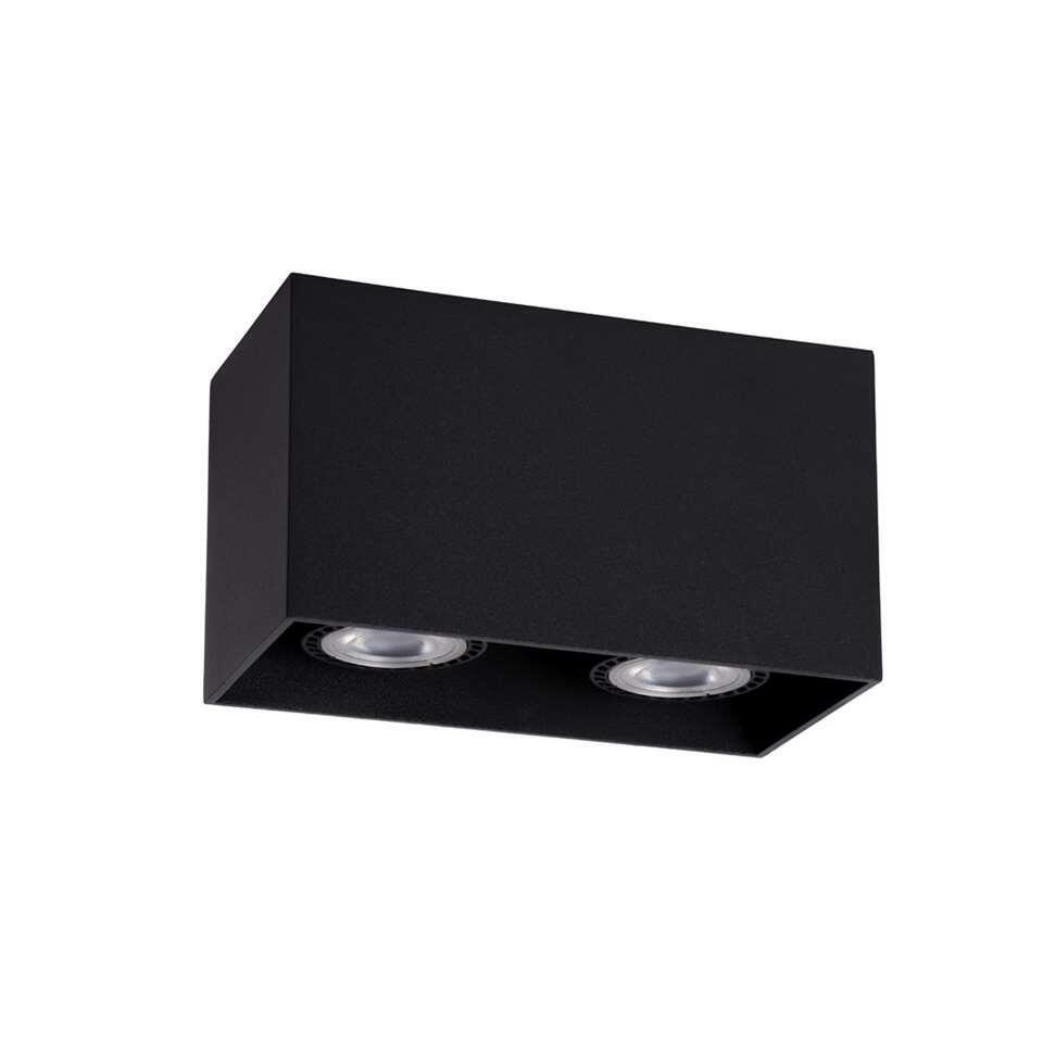 Lucide plafondspot Bodi 2 - zwart - 8 cm